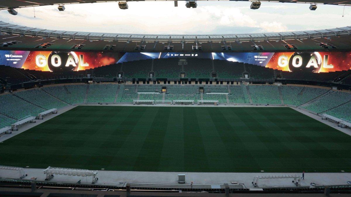 Krasnodar Stadium Russia Dataton